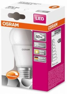 LED DO 9W E27 DIMMABLE